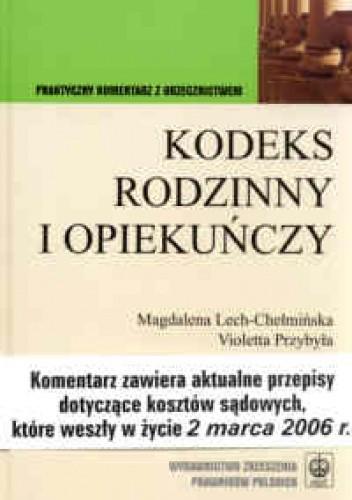 Okładka książki KODEKS RODzINNY I OPIEKUńCzY WYD.III