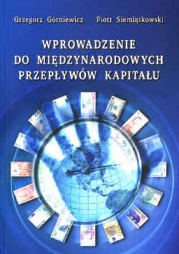 Okładka książki Wprowadzenie do międzynarodowych przepływów kapitału