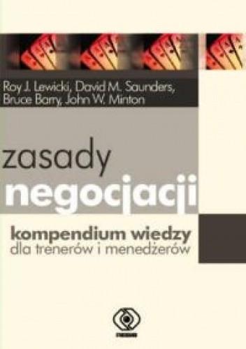 Okładka książki zasady negocjacji