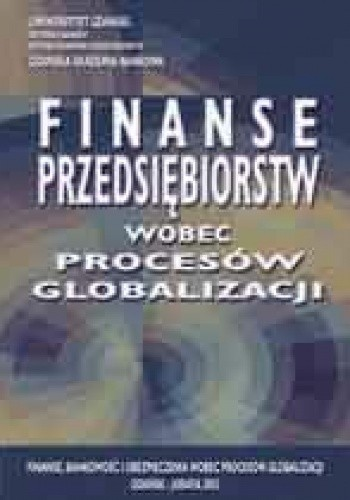 Okładka książki Bankowość wobec procesów globalizacji
