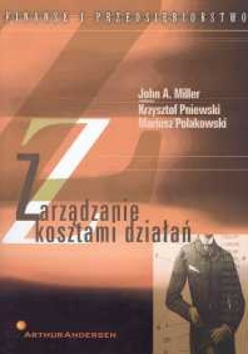 Okładka książki Zarządzanie kosztami działań