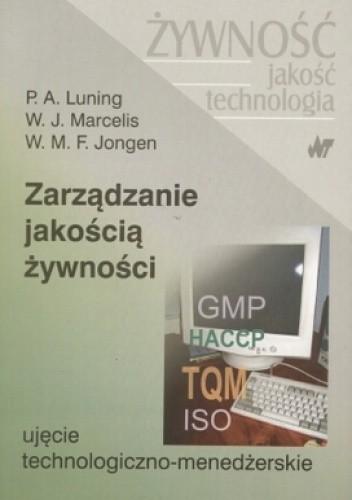 Okładka książki zarządzanie jakością żywności. Ujęcie technologiczno-menedżerskie