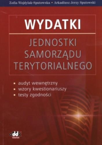 Okładka książki Wydatki Jednostki samorządu terytorialnego