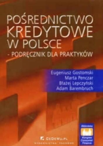 Okładka książki Pośrednictwo kredytowe w Polsce