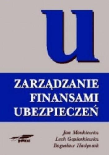 Okładka książki zarządzanie finansami ubezpieczeń