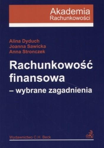 Okładka książki Rachunkowość finansowa. Wybrane zagadnienia
