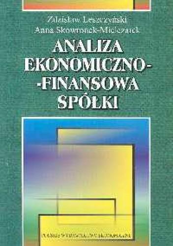 Okładka książki Analiza ekonomiczno - finansowa spółki