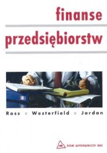 Okładka książki Finanse przedsiębiorstw