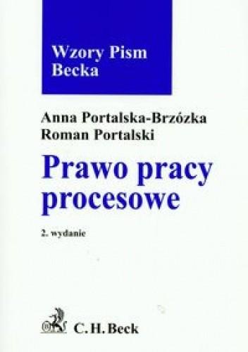 Okładka książki Prawo pracy procesowe Wzory pism