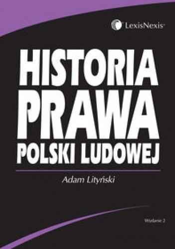 Okładka książki Historia prawa Polski Ludowej