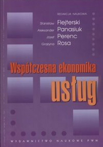 Okładka książki Współczesna ekonomika usług
