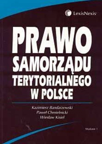 Okładka książki Prawo samorządu terytorialnego w Polsce