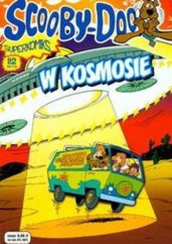Okładka książki Scooby-Doo w kosmosie