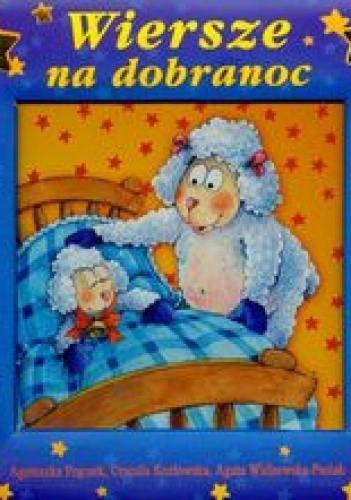 Okładka książki Wiersze na dobranoc Okienko