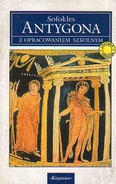 Okładka książki Antygona
