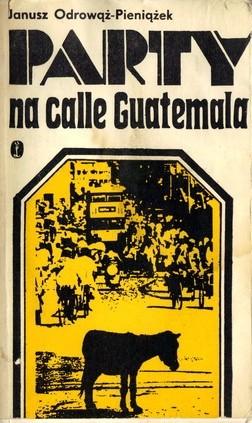 Okładka książki Party na calle Guatemala