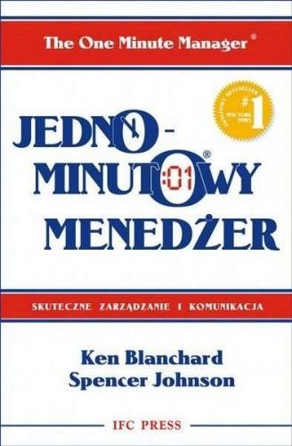 Okładka książki Jednominutowy menedżer