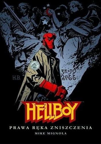 Okładka książki Hellboy: Prawa ręka zniszczenia