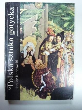 Okładka książki Polska sztuka gotycka