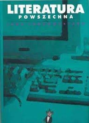 Okładka książki Literatura powszechna według Jana Tomkowskiego