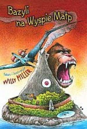 Okładka książki Bazyli na Wyspie Małp