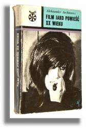 Okładka książki Film jako powieść XX wieku