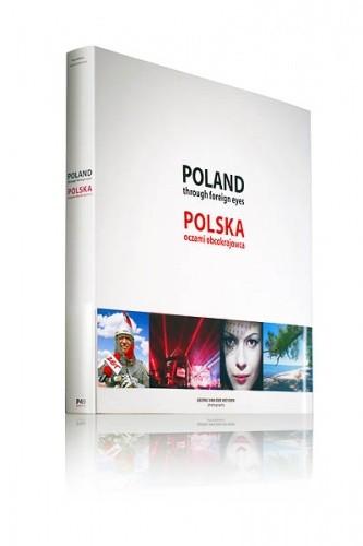 Okładka książki Poland through foreign eyes Polska oczami obcokrajowca