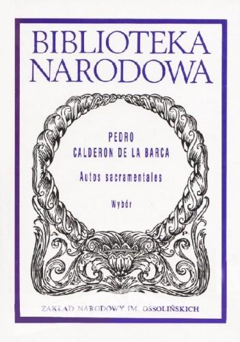 Okładka książki Autos sacramentales