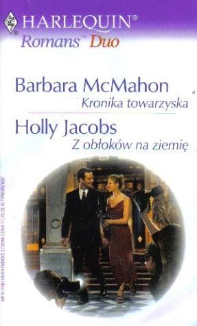 Okładka książki Kronika towarzyska. Z obłoków na ziemię