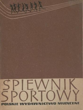 Okładka książki Śpiewnik sportowy