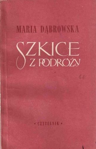 Okładka książki Szkice z podróży