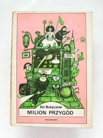 Okładka książki Milion przygód