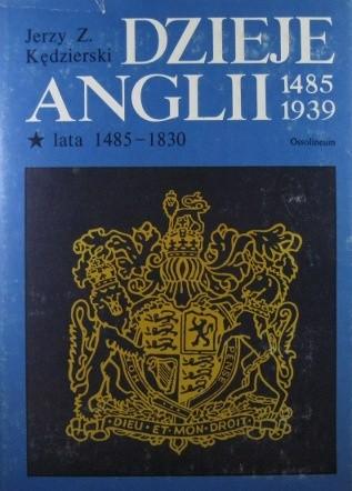 Okładka książki Dzieje Anglii (1485-1939) t. I-II