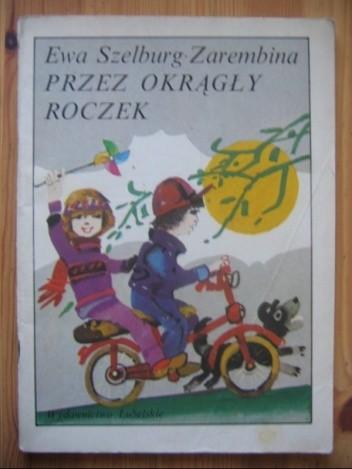 Okładka książki Przez okrągły roczek