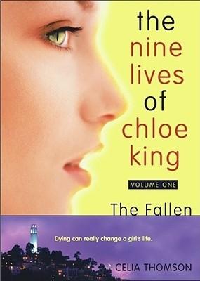 Okładka książki The Nine Lives of Chloe King. The Fallen.