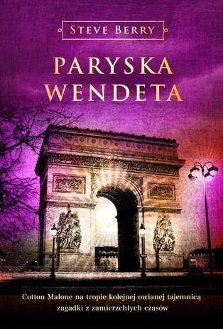 Okładka książki Paryska wendeta