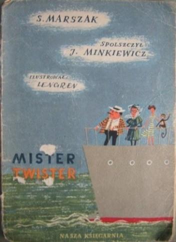 Okładka książki Mister Twister