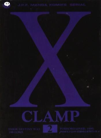 Okładka książki X, tom 2