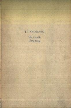 Okładka książki Dziennik Serafiny