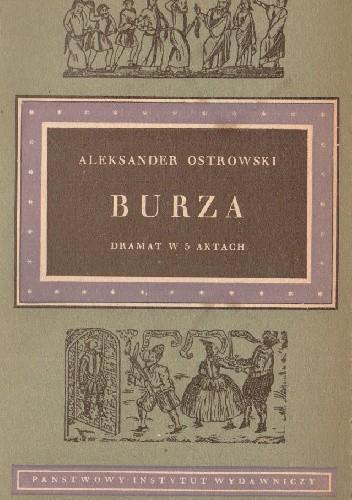 Okładka książki Burza: dramat w 5 aktach