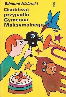 Okładka książki Osobliwe przypadki Cymeona Maksymalnego