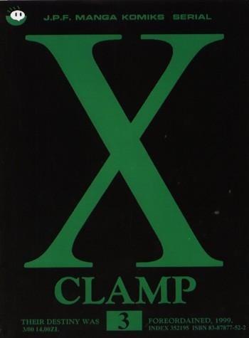 Okładka książki X, tom 3