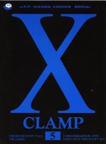 Okładka książki X, tom 5
