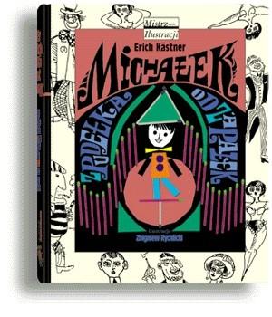 Okładka książki Michałek z pudełka od zapałek