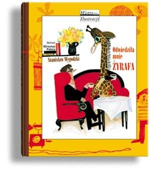 Okładka książki Odwiedziła mnie żyrafa
