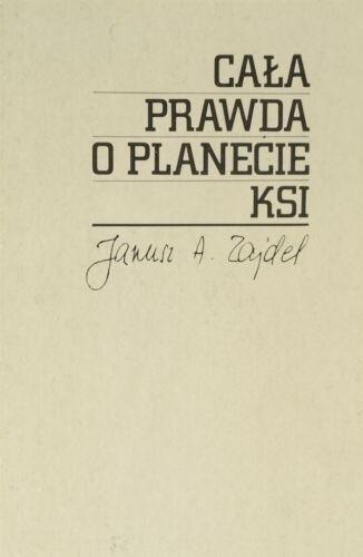 Okładka książki Cała prawda o planecie Ksi