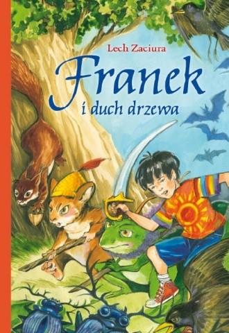 Okładka książki Franek i duch drzewa