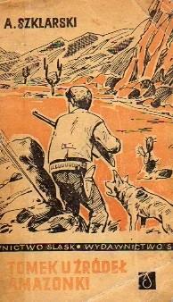 Okładka książki Tomek u źródeł Amazonki
