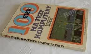 Okładka książki 100 gier na trzy komputery