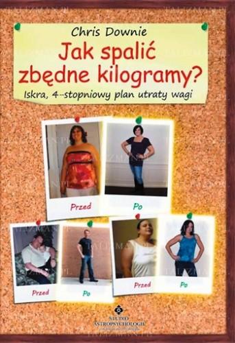Okładka książki Jak spalić zbędne kilogramy? Iskra, 4-stopniowy plan utraty wagi
